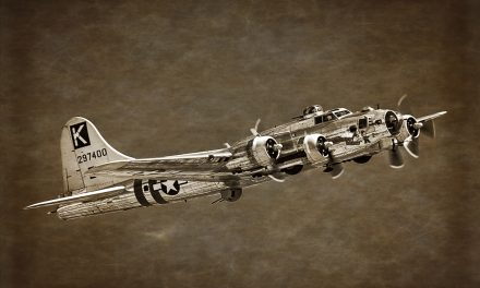 B-17, Chino Planes of Fame Air Show.  Converted to B&W, toned and textured in CS6 and Perfect Effects 8.