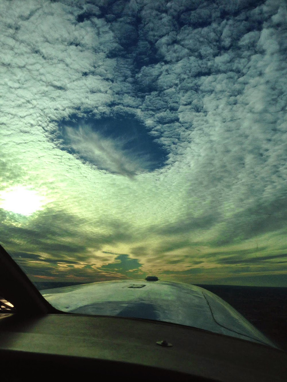 Happy Friday! Who's flying this weekend? (Thanks to Brad Henshaw for sharing his photo!)