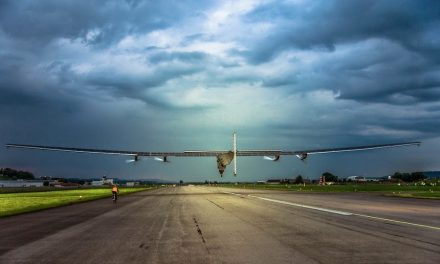 The Solar Impulse 2 recently completed its first flight. Check out video footage here: http://flyingm.ag/Ihd0m4