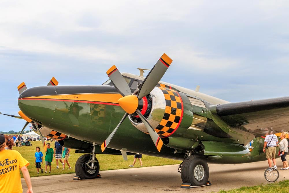 This aircraft is a Howard 500.
