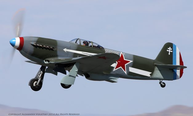 Soviet-made Yakovlev Yak-3 in the WWII French (that served as part of the Soviet Air Force) Normandie-Niémen…