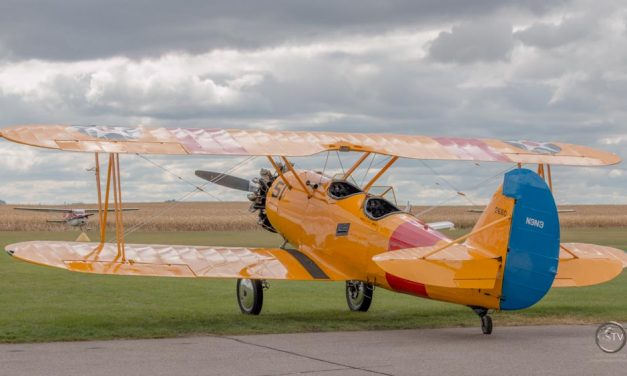 Hector, MN Fly In 2014.