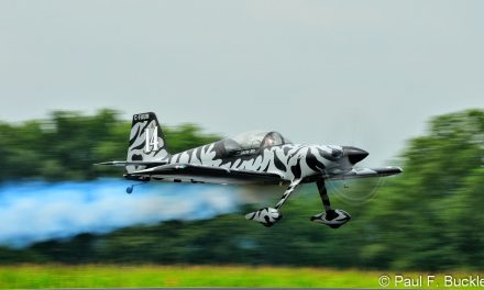 F-1 Rocket blasting off from the Mid East Regional Fly-In at Grimes Field Urbana Ohio, August 2014.