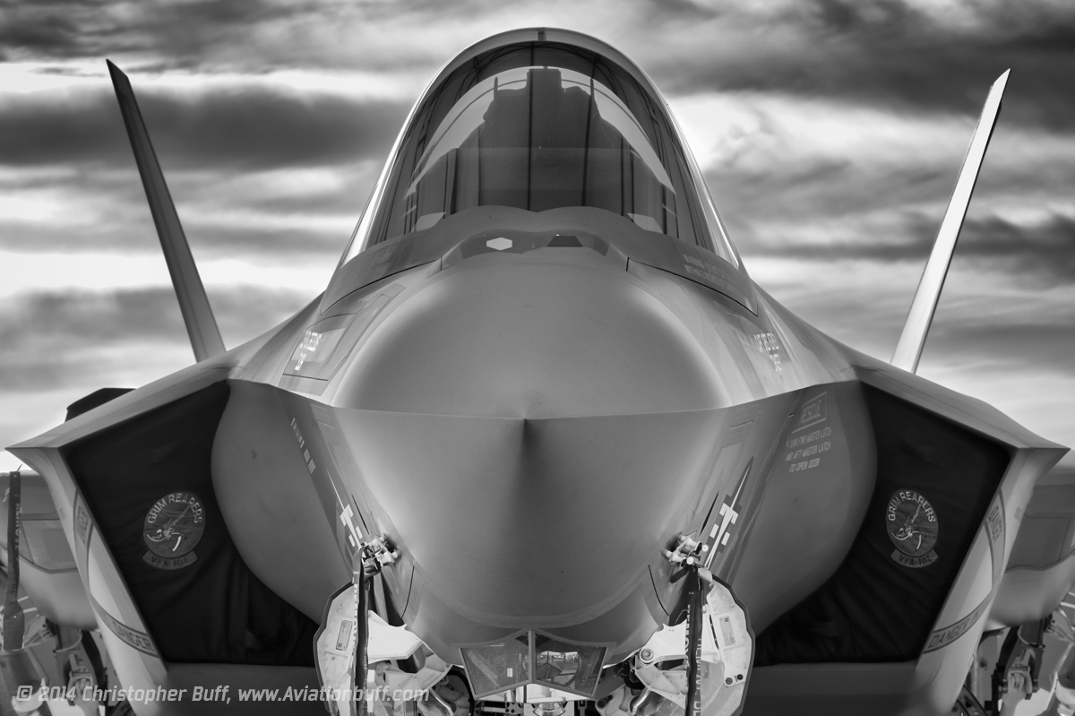 Face to Face with Stealth – Christopher Buff, www.Aviationbuff.com