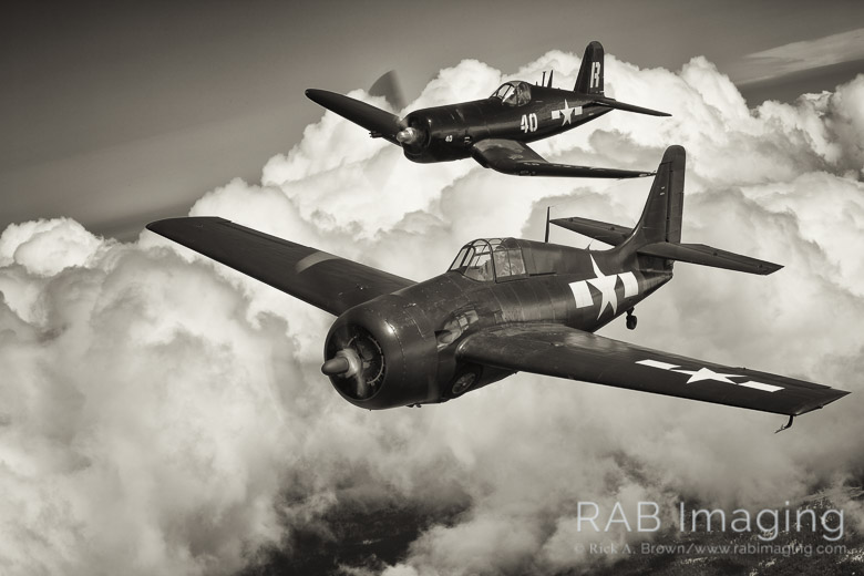 I felt like continuing with the B&W conversions today, but thought I'd do aviation today.
