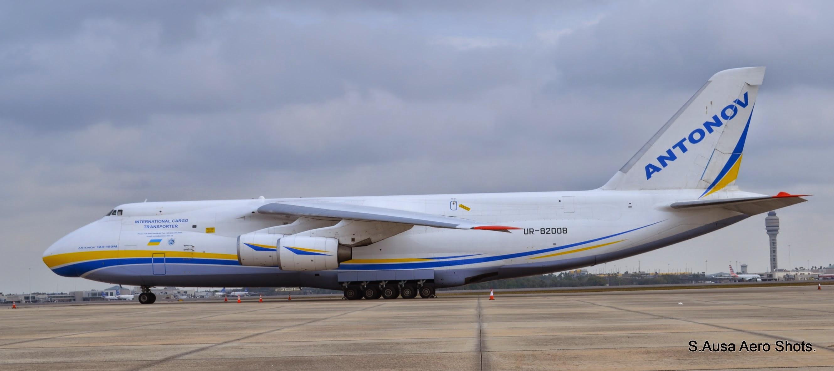 UR-82008 Antonov Airlines (Antonov Design Bureau) Antonov An-124 @ KMCO Orlando ….28 Years old and still turns…