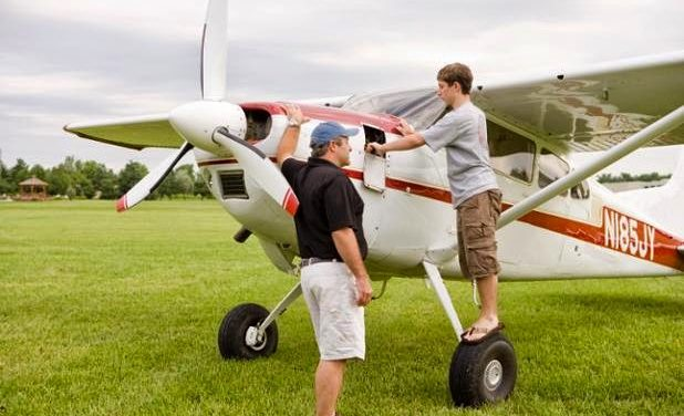 AOPA Photo of the Day: General Aviation is a family affair – pass it on! #AOPA #flywithaopa