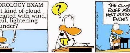 Ding Duck Meteorology Exam