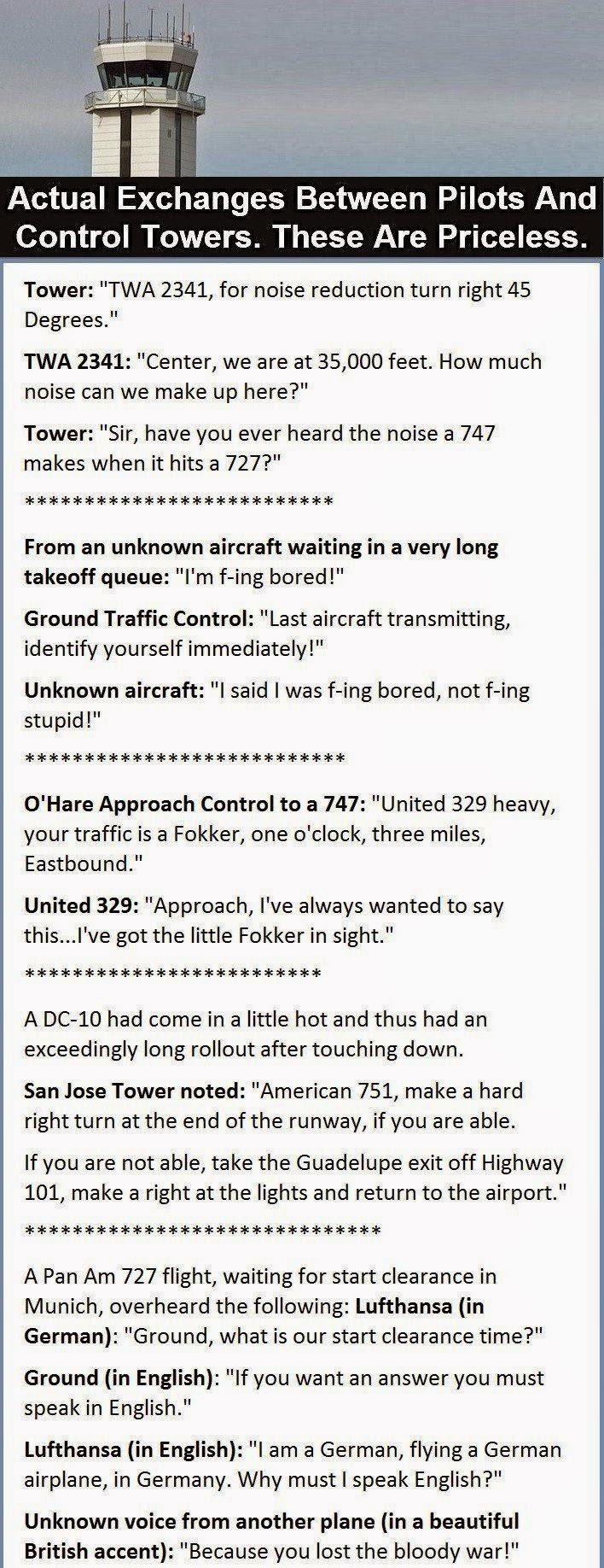 ATC and pilot jokes…:-)