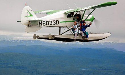 Economy class in Alaska!