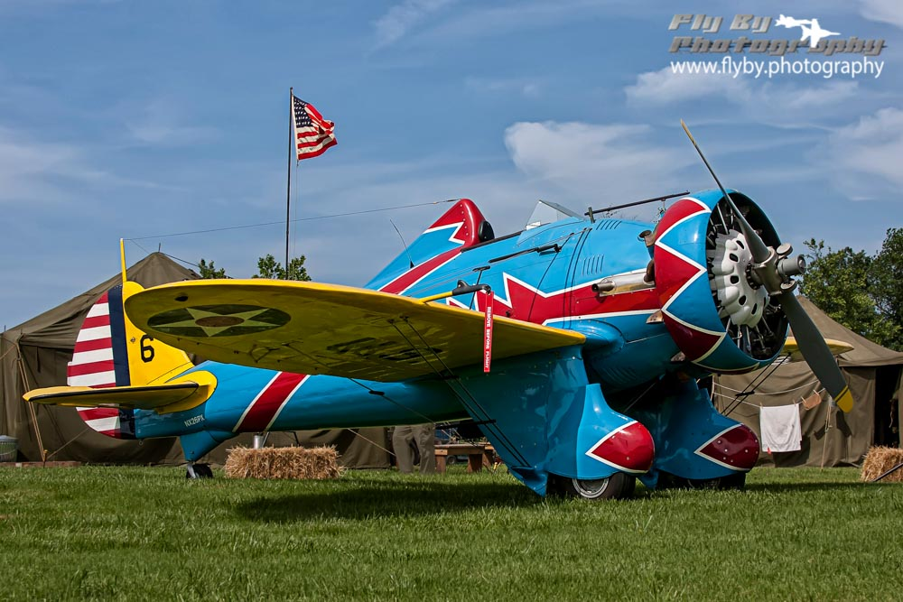 The Boeing P-26 Peashooter first took to the air on March 20, 1932.