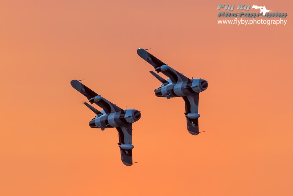 My airliner photos have gotten a rather luke warm reception, so here are Snort and Buick tearing it up at sunset.