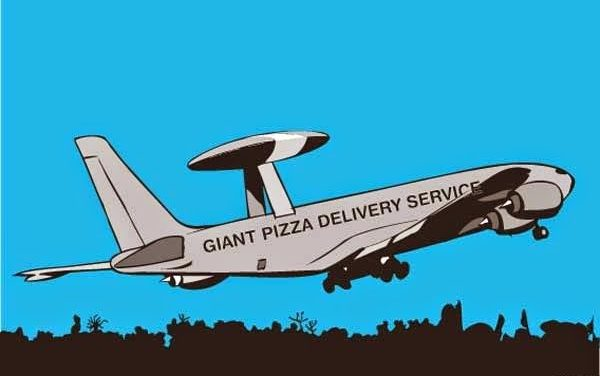 Delivery?  #AviationHumor   #Flying