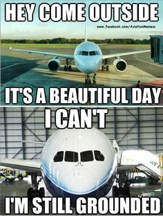 #Beautifulday #aviationhumor