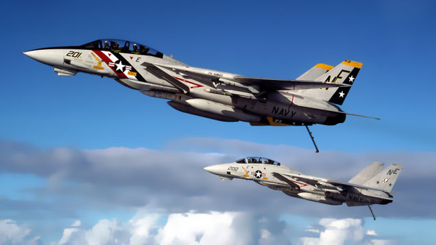 This Topgun Instructor Watched The F-14 Go From Tomcat to 'Bombcat'
