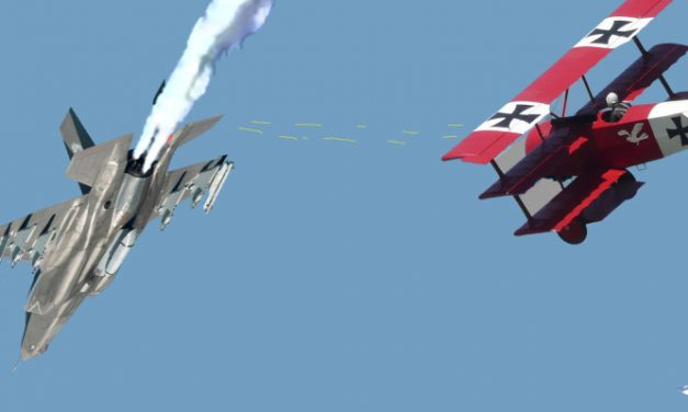 Lockheed Upbeat Despite F-35 Losing Dogfight to Red Baron