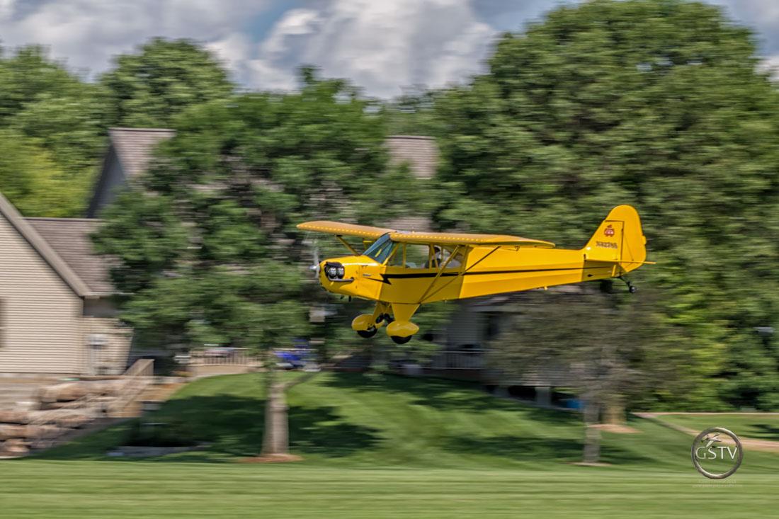 J-3 Cub Flyby