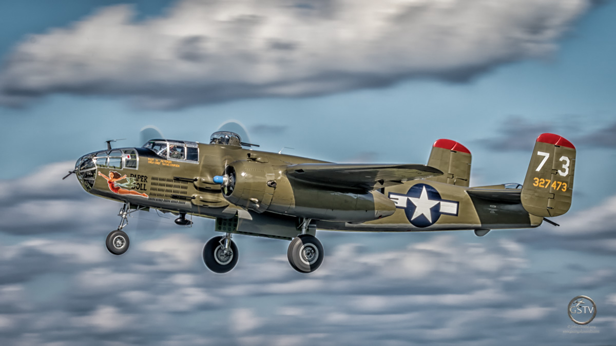 North American B-25J Mitchell – Paper Doll