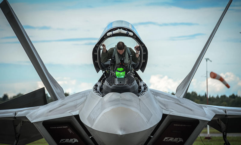 Everyon Who Wanted More F-22s Is Being Proven Right