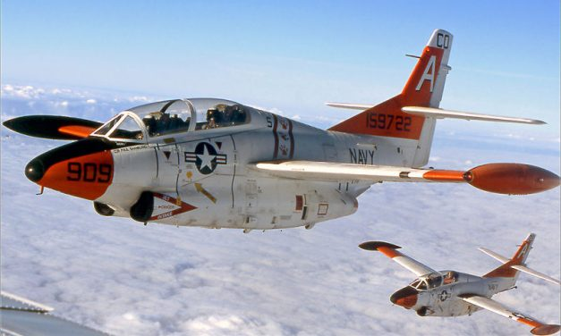 The Navy Finally Says Goodbye To The Tubby Little T-2 Buckeye Jet Trainer