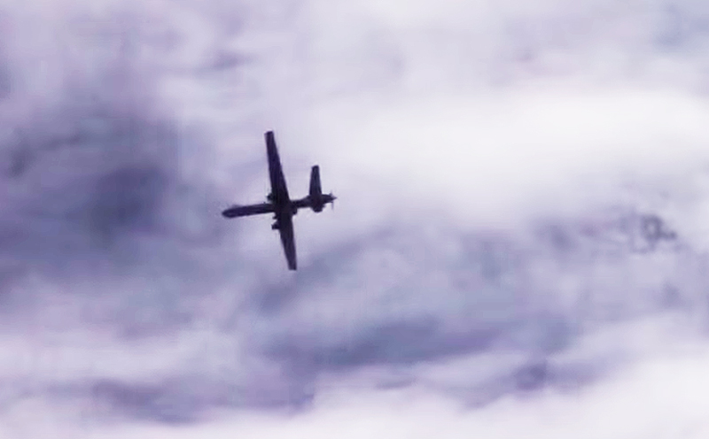 Cockpit Video Shows A Russian Su-30 Shadowing A MQ-9 Reaper Over Syria