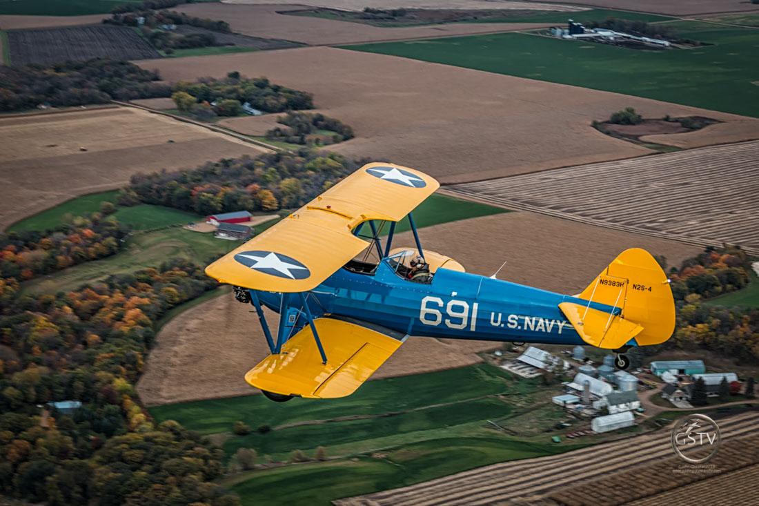 Boeing Stearman – Want to Race??