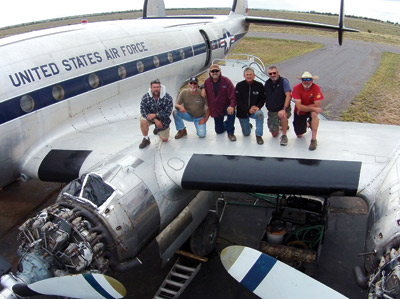 Flying into the future: Bataan to fly from Valle to Chino, California for full restoration