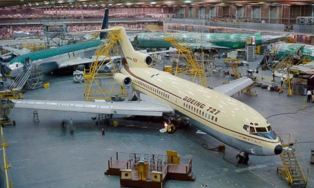 First Boeing 727 Airliner Almost Ready for February Flight