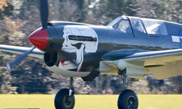 "Curtiss P-40N Warhawk ""Bonnie Kaye"" Flies For The First Time"