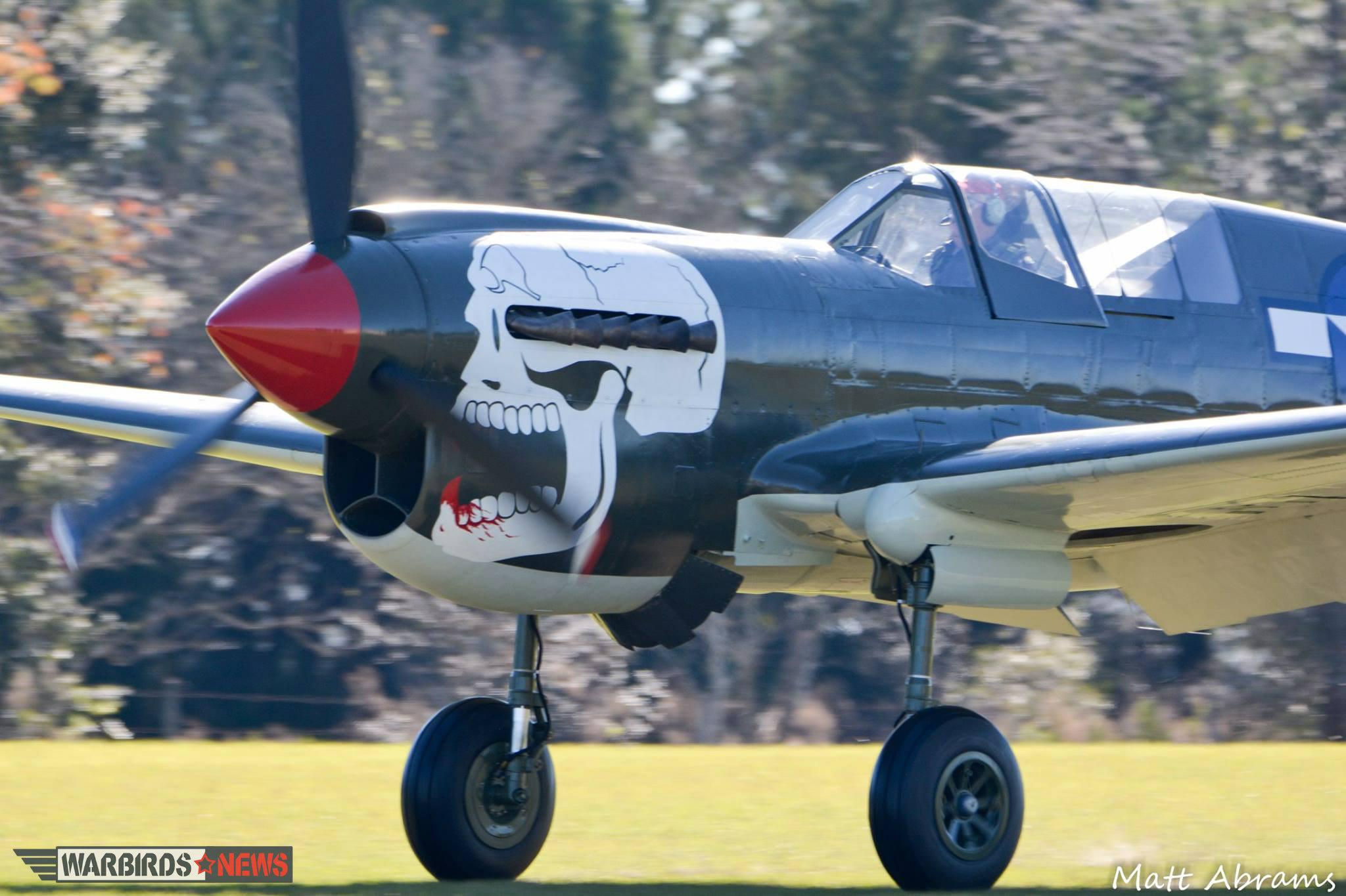 "Curtiss P-40N Warhawk ""Bonnie Kaye"" Flies For The First Time"