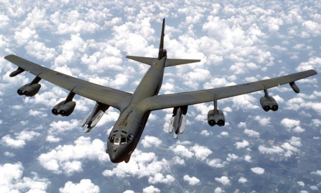 Operation Secret Squirrel Saw B-52s Rippling Off Cruise Missiles At Iraq 25 Years Ago