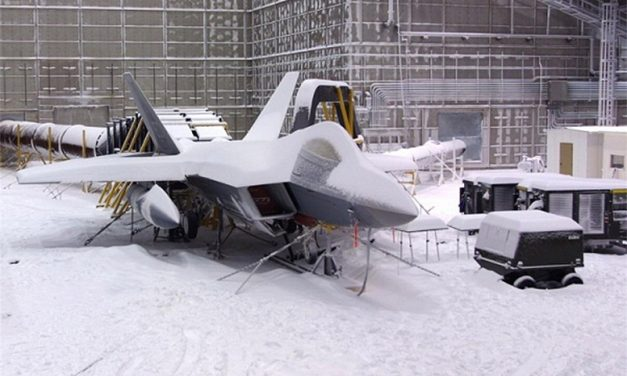 This Is How The Pentagon Knows Its Combat Aircraft Can Withstand A Blizzard