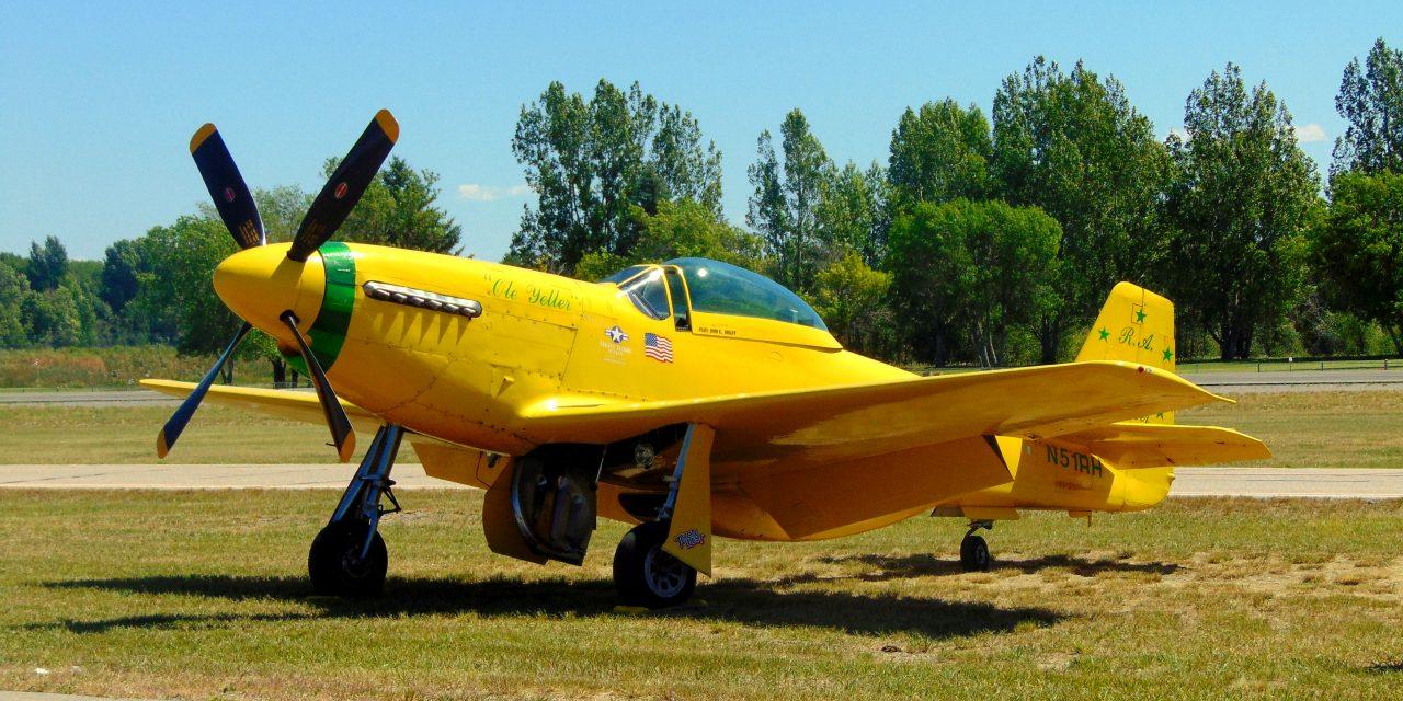 "Bob Hoover's ""Ole Yeller"" Found! Rexburg, Idaho!! Just flew this last weekend!!"