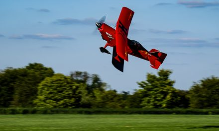 "Brett Hunter's ""Zombie Slayer"" at the Red Stewart Airshow Waynesville, Ohio 2016."