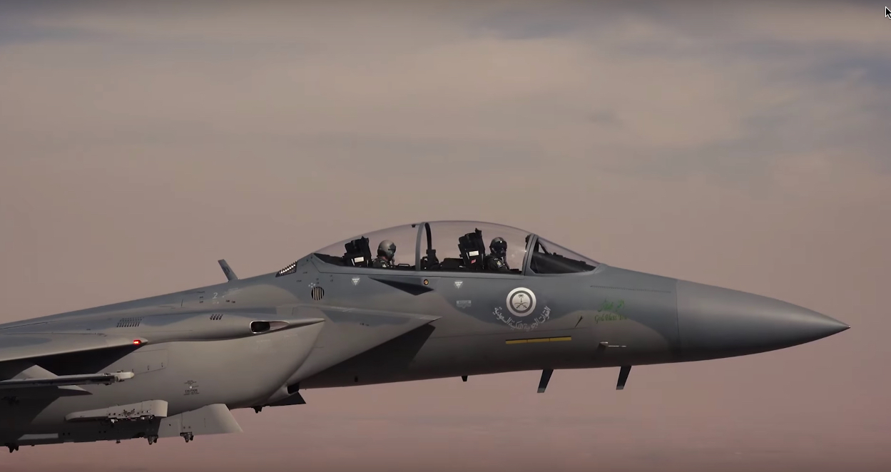 Up close and personal with the first Saudi F-15SA, the most advanced Eagle ever built