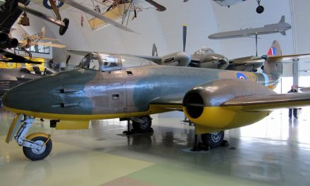 The Gloster Meteor prototype- RAF museum
