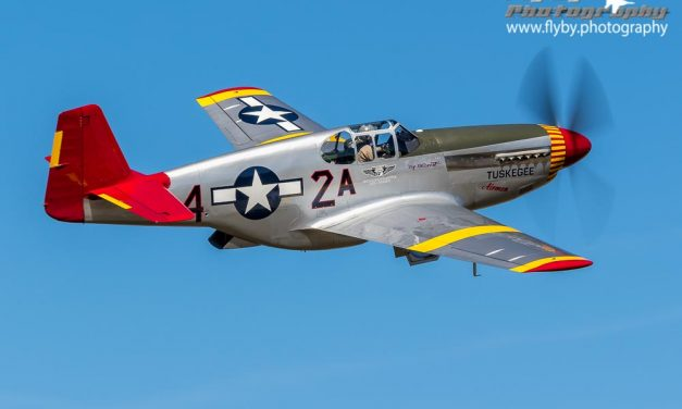 P-51B – Tuskegee colors
