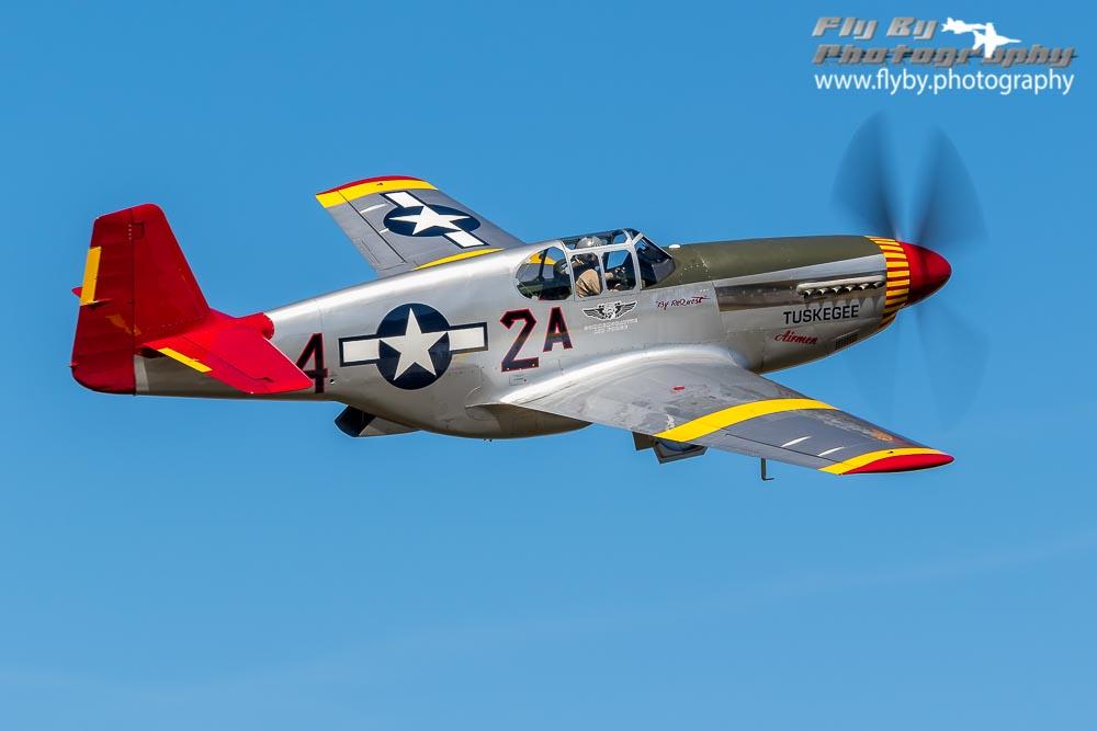 P-51B – Tuskegee colors