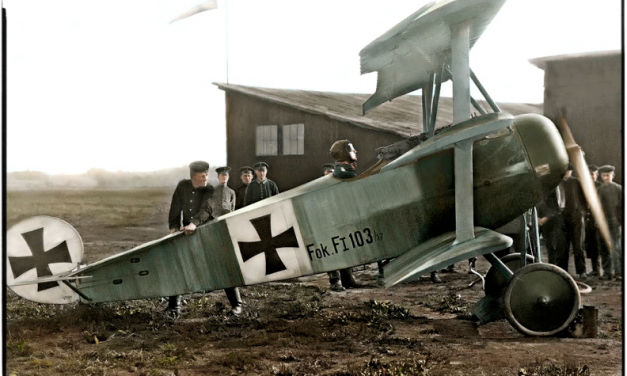 Leutnant Werner Voss, Staffelführer of Jasta 10 in his Fokker F.I, September 1917. (KIA 23/9/17 aged 20)