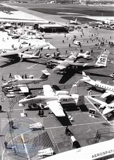 IA58 + A10 – París Air Show