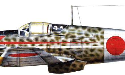 """Kawasaki Ki-61 – """"Hien"""" allied code name """"Tony"""" due to its first impression upon Allied airmen to be a German Me…"""