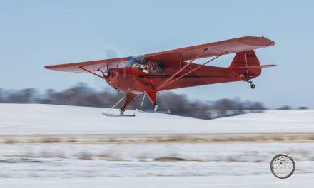 Snow + Airplane = Fun!