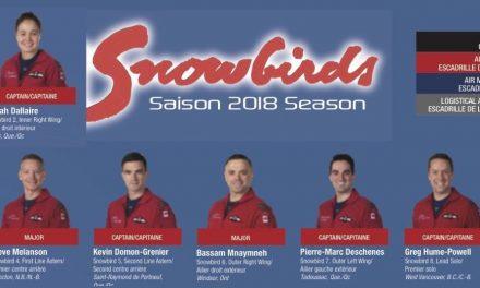 The 2018 Snowbirds!