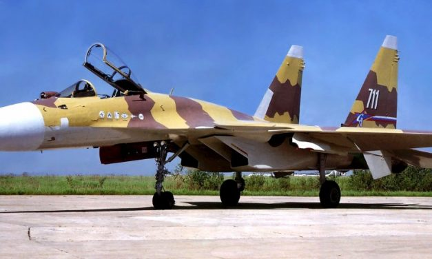 THE FIGHTER/ATTACK PLANES OF SUKHOI: Su-37 (1996).
