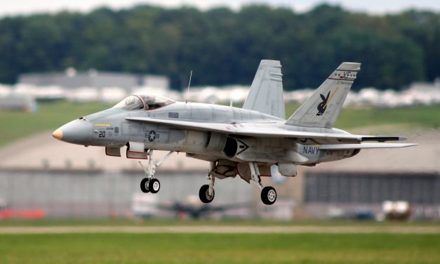 Yellow Aircraft F-18 that I was flying at The National Museum of the United States Air Force. 2005 #rcjet #turbine
