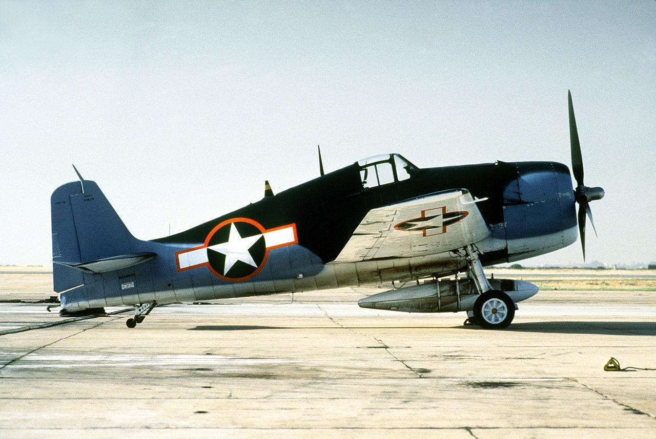 A Grumman F6F-3 Hellcat, in 1984.