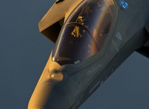F-35C at Dusk by Lockheed Martin on Flickr