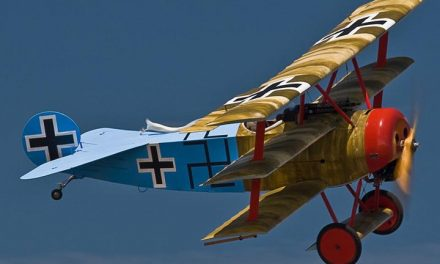 Yet another recent post from my World War One Aircraft collection. A Fokker Dr. I Triplane.