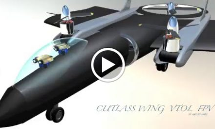 """""""Cutlass Wing VTOL FPV"""",  I call this the episode at the castle, too much youtube lately, lol."""