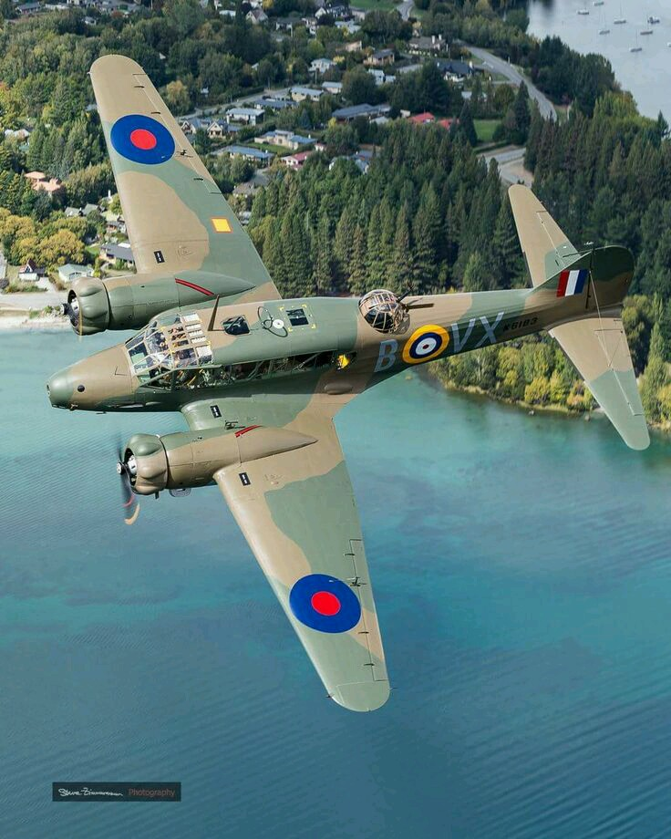 1943 AVRO Anson Mk1, is a British twin-engined, multi role aircraft that served in WWII.